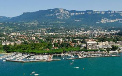 Aire camping-car park d'Aix-les-Bains Riviera des Alpes